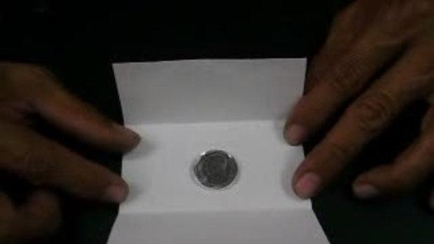 มายากลเหรียญหายไปไหน อ.สมศักดิ์