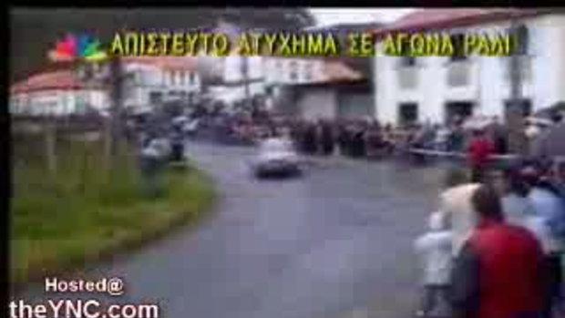 รถแข่งพุ่งชนคนดู