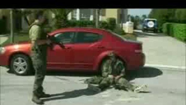 ทหาร ตกรถ มึนเลย