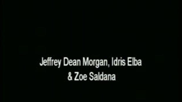 คลิปสัมภาษณ์  Zoe Saldana, Jeffrey Dean Morgan & I