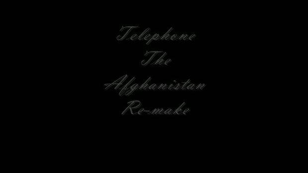 ทหารลอ้เลียนเพลง Telephone ของเลดี้กาก้า