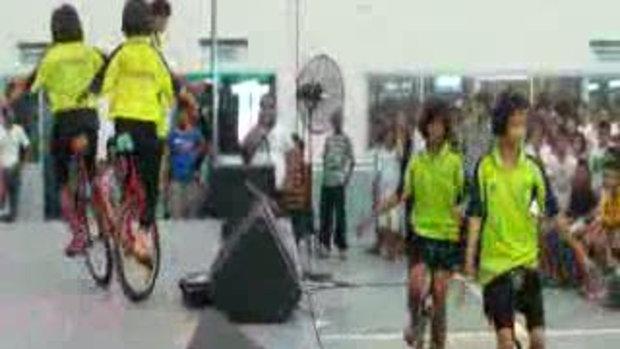 จักรยานล้อเดียวโรงเรียนบ้านคลองหมีภาค2