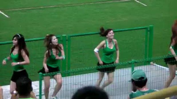 สาวๆเต้น