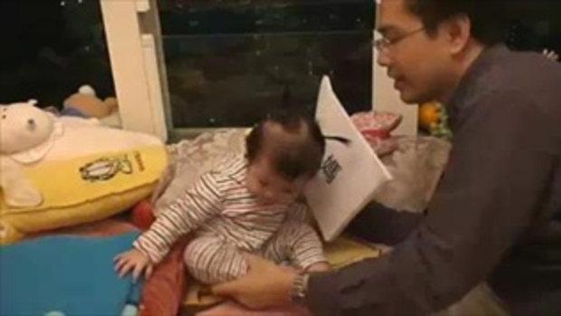 ทึ่ง !! เด็กอัจฉริยะ 12 เดือน อ่านหนังสือได้