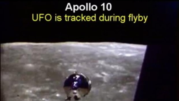 คลิป UFO ต่างดาวที่องค์การ NASA ไม่ต้องการให้คุณเห