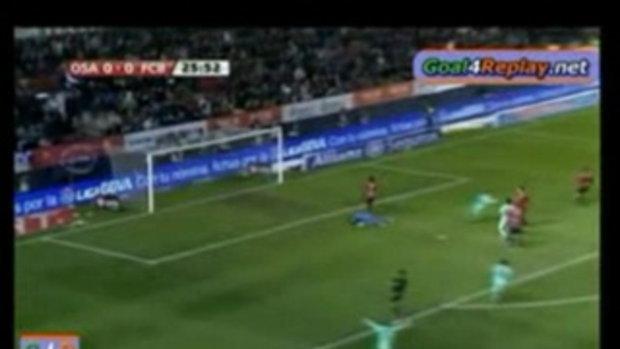 บาร์เซโลน่า 3-0 โอซาซูน่า
