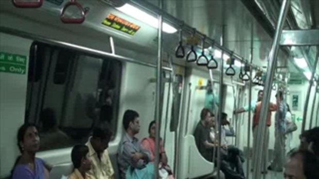 เจโอ๋เวสป้าผจญภัย-รถไฟฟ้าในอินเดีย