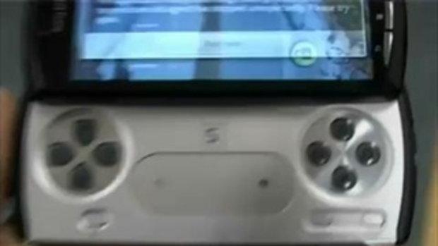 PlayStation Phone มือถือรุ่นใหม่มาพร้อม เกมส์เพลย์