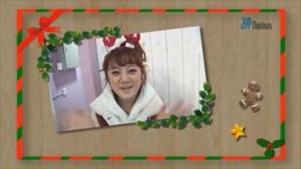 JYP Nation ส่งข้อความอวยพรคริสต์มาส