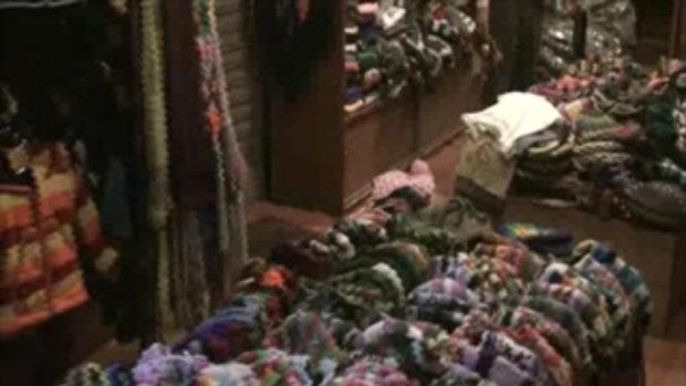 เจโอ๋เวสป้าผจญภัย-ร้านเสื้อกันหนาวในกาฐมันฑุ(เนปาล