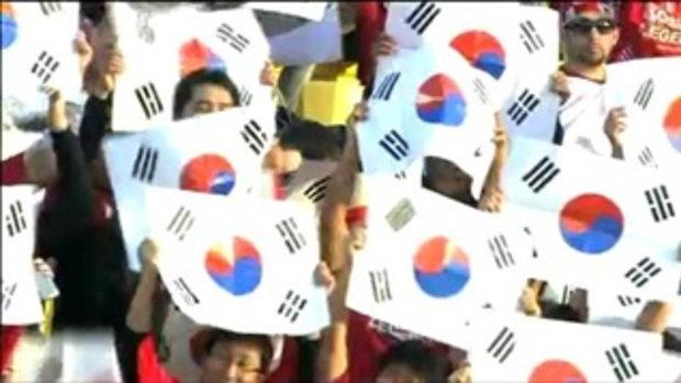 ญี่ปุ่น 2-2 เกาหลีใต้ (จุดโทษ 3-0)
