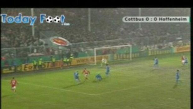 ค็อตบุส 1-0 ฮอฟเฟ่นไฮม์ (เดเอฟเบ โพคาล)
