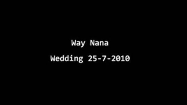 presentation งานแต่ง - นานา เวย์