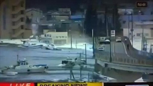 แผ่นดินไหวรุนแรง 8.9 ริกเตอร์ ญี่ปุ่น