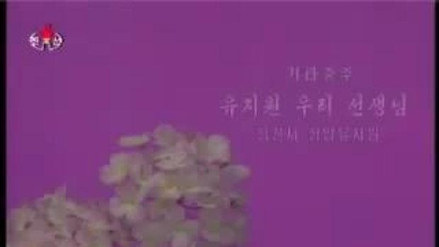 อนุบาลเกาหลีเหนือ เล่นกีต้าร์ น่ารัก