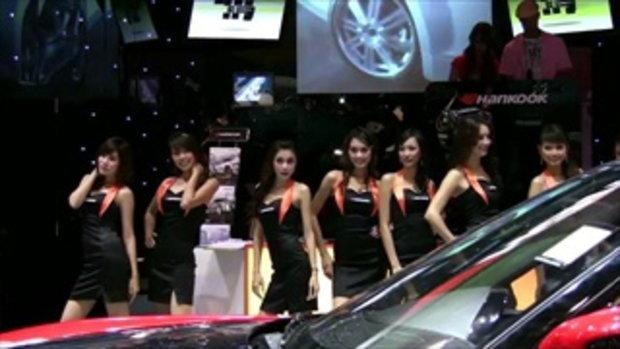 จัดเต็ม! สาว motor show 2011 - Sexy Hankook tire g