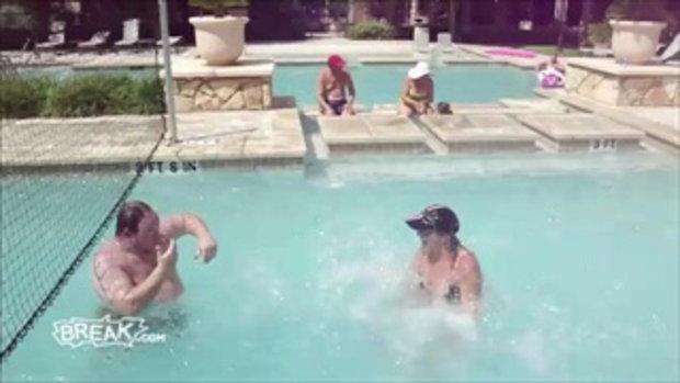 เมื่อสาวๆ อยากตีลังกาลงน้ำ