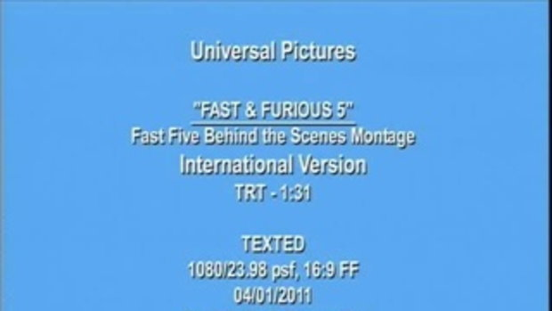 Fast5 - Action Montage trailer 3/4