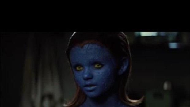 คาแร็คเตอร์ Mystique สาวน้อยที่สามารถแปลงร่างเป็นผ