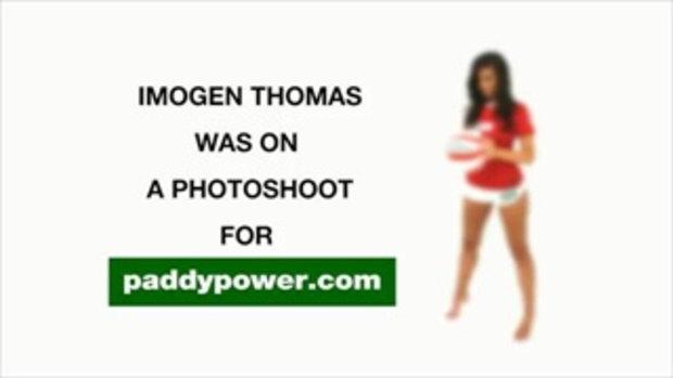 สาวเซ็กซี่ Imogen Thomas กิ๊กนักบอล สาวสวยสุดฮอต