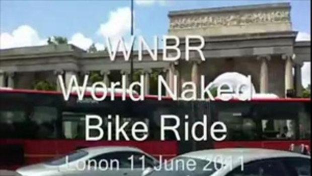 เปลือยกายขี่จักรยาน ลดโลกร้อน