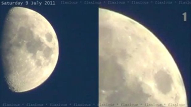 ถ่ายดวงจันทร์ แต่ดันติด UFOs มาด้วย