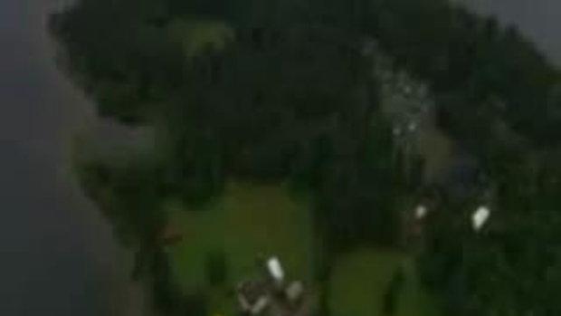 ช็อค! 80 คนถูกสังหารหมู่ใน นอร์เวย์ มุมมองทางอากาศ