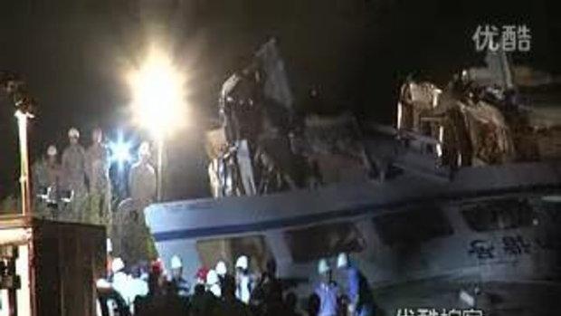 5 คลิปสลด! อุบัติเหตุรถไฟหัวกระสุนจีนฯ ที่เวินโจว 2/5
