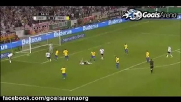 เยอรมัน 3-2 บราซิล (กระชับมิตรทีมชาติ)