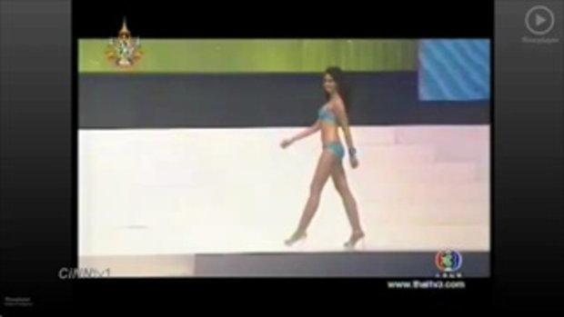 ประกวด Miss Thailand World 2011 ชุดว่ายน้ำ