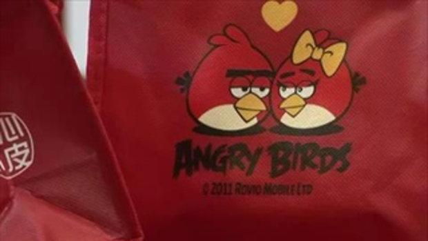 Angry Birds กลายเป็นขนมไหว้พระจันทร์