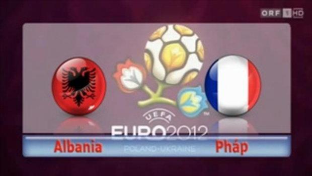 อัลบาเนีย 1-2 ฝรั่งเศส ฟุตบอลยูโร 2012 รอบคัดเลือก