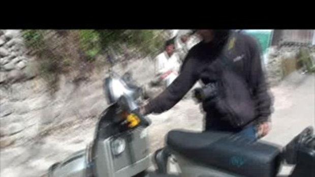 เจโอ๋เวสป้าผจญภัย-ตะลุยด่านโคดาริ รถเสีย เนปาล  Kodari Nepal