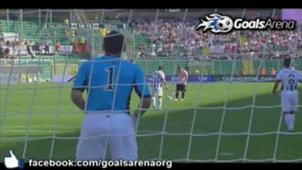 ไฮไลท์ กัลโช่ เซเรีย อา ปาแลร์โม่ 2-0 เซียน่า