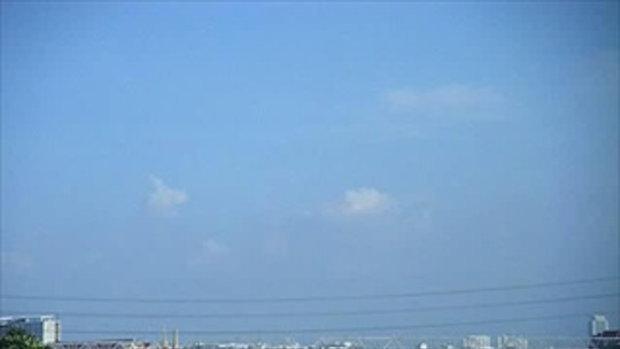 สภาพปริมาณน้ำริมฝั่งแม่้ำน้ำเจ้าพระยาและแนวเขื่อน กทม. วันอาทิตย์ที่23ตุลาคม