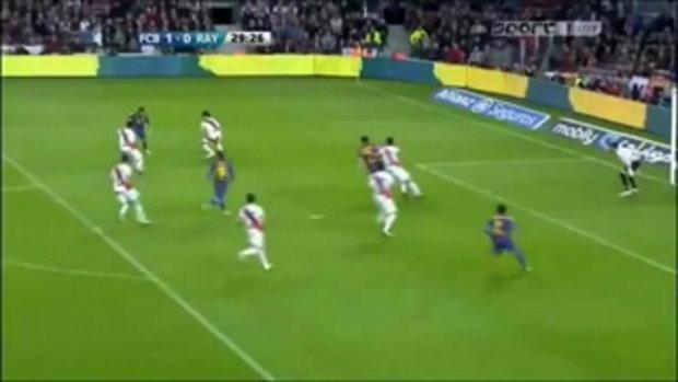 บาร์เซโลน่า 4-0 ราโย บาเยกาโน่  ไฮไลท์ ลาลีกา