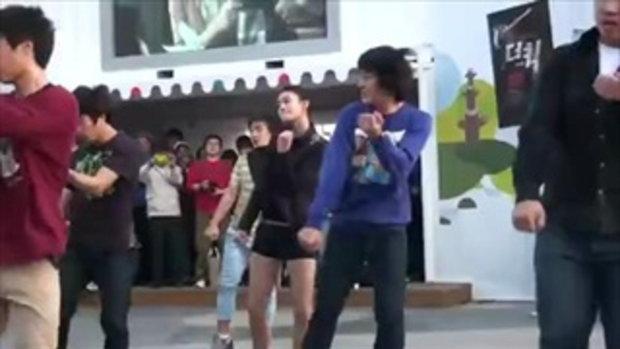 เจ๋ง! แดนซ์สลับเทควันโดในเกาหลี