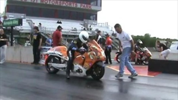 Turbo Jester Hayabusa Prostreet 7.3@199mph pass.  by sia.co.th