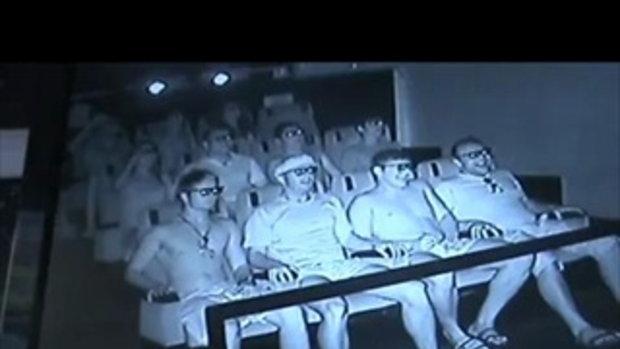 ชมบรรยากาศในโรงหนัง 7D