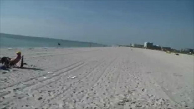 Treasure Island Frisbee Trick Shots - Brodie Smith