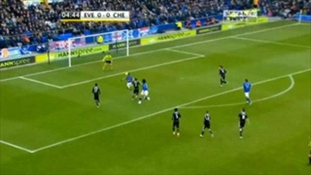 ไฮไลท์ พรีเมียร์ลีก เอฟเวอร์ตัน 2-0 เชลซี