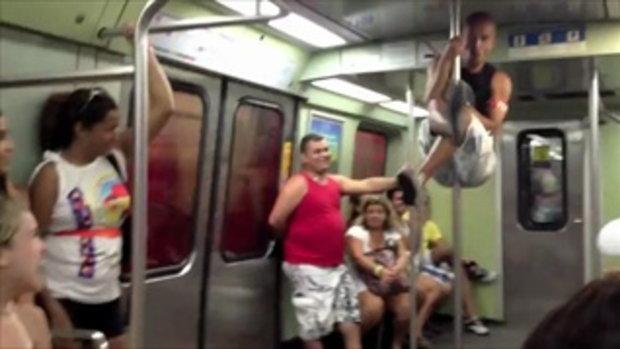 เต้นรูดเสา บนรถไฟ จนเป็นข่าว 555+
