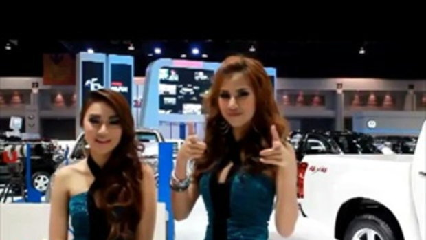 พริตตี้สาวสวย Motor Show 2012 เด็ดๆ