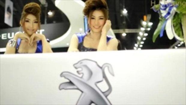มอเตอร์โชว์ 2012 - Peugot models clip 2