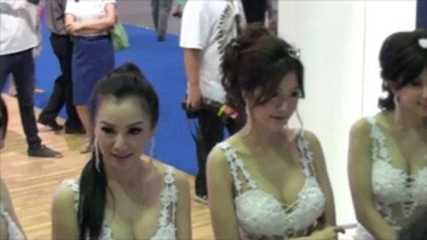 มอเตอร์โชว์ 2012 - Pretty Ssangyong 2