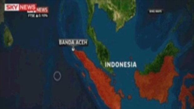 แผ่นดินไหว 8.9 ริกเตอร์ อินโดนีเซีย