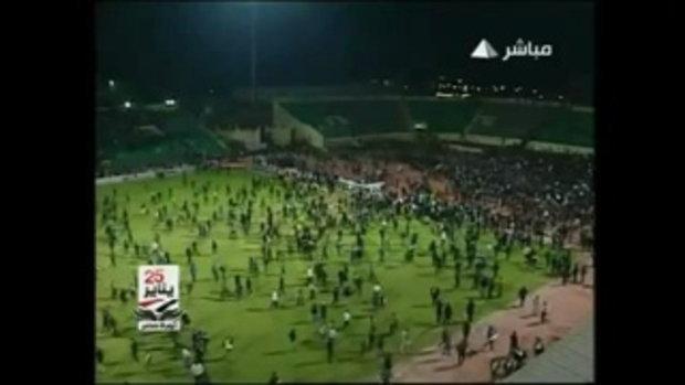 อนาถ! จราจลฟุตบอลที่อียิปต์ ตาย 73