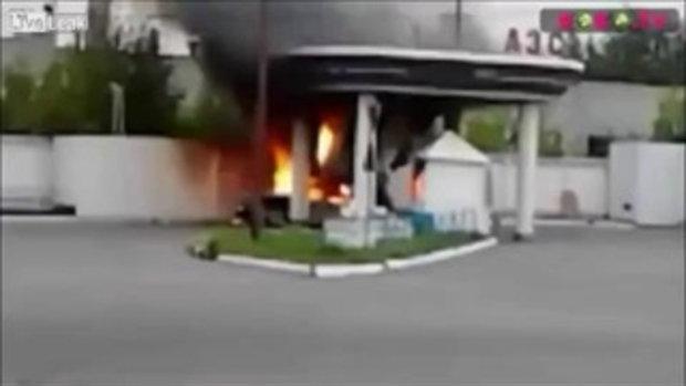 รถยนต์ติดแก๊ส ระเบิด