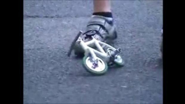 โอ้ววว! จักรยานจิ๋ว เล็กที่สุดในโลก