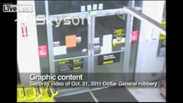 ตำรวจมะกันรุมยิงดับโจรปล้นร้านสะดวกซื้อ